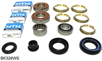 S20 S40 L3 K4F Honda CR CRX Civic 5 Speed Transmission Bearing Kit  with Synchro Rings, BK326WS | Allstate Gear