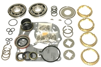 NP833 4 Speed Bearing Kit Cars with 80mm OD Input & Output Bearings with Synchro Rings, BK340WS