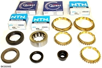 S1 Bearing Kit with Synchro Rings, 1990 Acura Integra, BK350WS