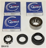 NV1500 GM S10 Isuzu Hombre 2.2 Liter Engine Bearing Kit, BK416