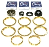 NV1500 GM S10 Isuzu Hombre with 2.2 Liter Engine Bearing Kit with Synchro Rings, BK416WS
