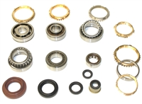 C52 C59 5 Speed Transmission Bearing Kit with Synchro Rings, BK418BWS