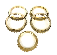 T5 Non World Class Brass Synchronizer Ring Kit, SRK107