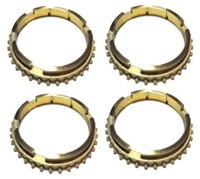 Muncie M21 4 Speed Synchro Ring Kit 4rings with shoulder, SRK116