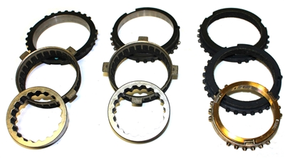 Borg Warner World Class T5 Master Synchro Ring Kit, SRK149