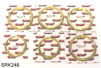 M5R2 Synchronizer Ring Kit Early, SRK248 - Ford Transmission Parts