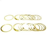 GM 8.5 Ford 7.5 Differential Carrier Super SR4 4 Speed Shim Kit SS10