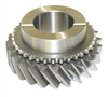 Borg Warner T10 3rd Gear 24 Tooth, T10P-11 - Transmission Repair Parts