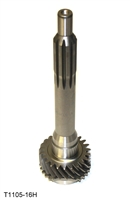 Ford Mustang T5 Input Shaft 23T 10 Inch., T1105-16H