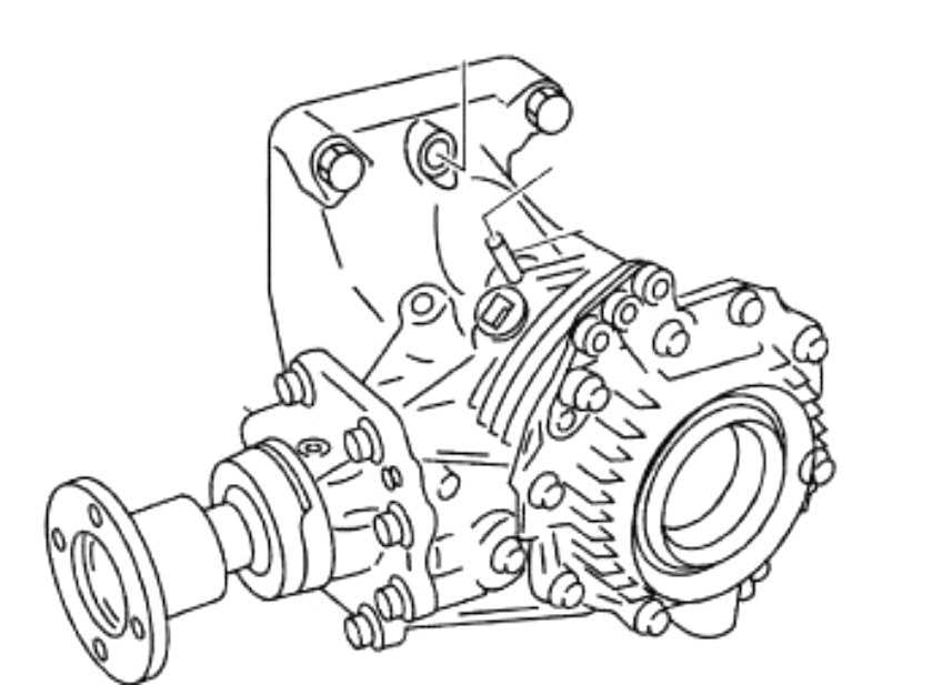 Reman Nissan Murano Transfer Case Ty20a 1 Replacement Part