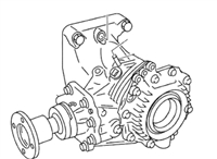 Reman Nissan Murano Transfer Case TY20A-3 - Rebuilt Replacement Part