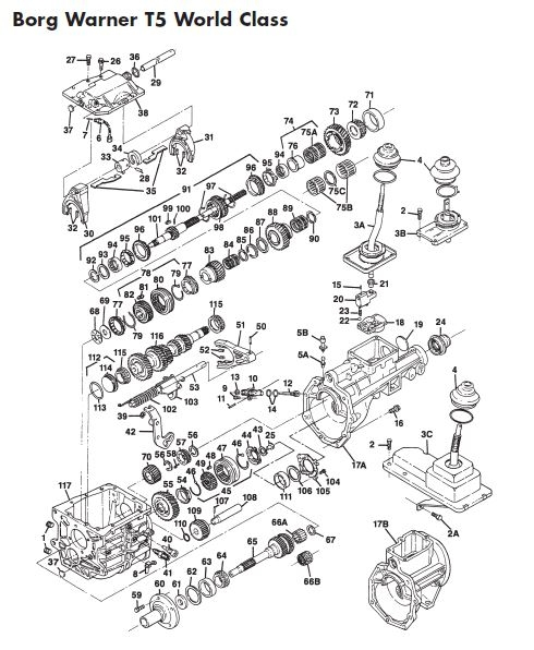 1970?1535292587 manual transmission repair parts online t5 camaro 5 speed