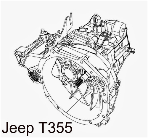 Jeep T355 5 Speed Manual Transmission Repair Parts Online