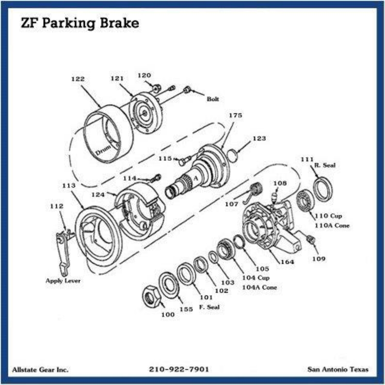 Peachy Ford Transmission Repair Parts Zf E Brake Diagram Wiring Digital Resources Lavecompassionincorg