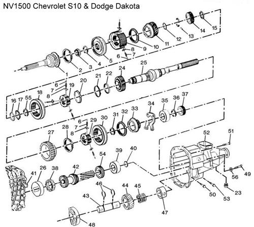 nv1500 s10 diagram    drawing