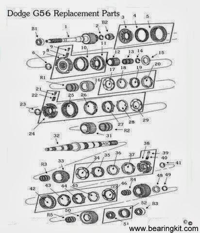 dodge parts diagram dodge transmission repair parts g56 diagram drawing  dodge transmission repair parts g56