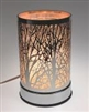 CHROME LARGE TREES LAMP DIFFUSER