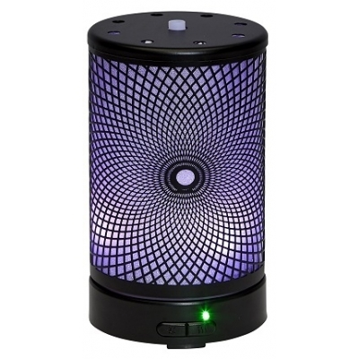 BLACK PATTERN ULTRASONIC MIST DIFFUSER