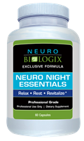 Neuro Night Essentials - Natural Sleep Support! (60 Capsules)