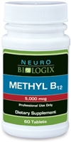 Methyl B12 (methylcobalamin) 60 Lozenges