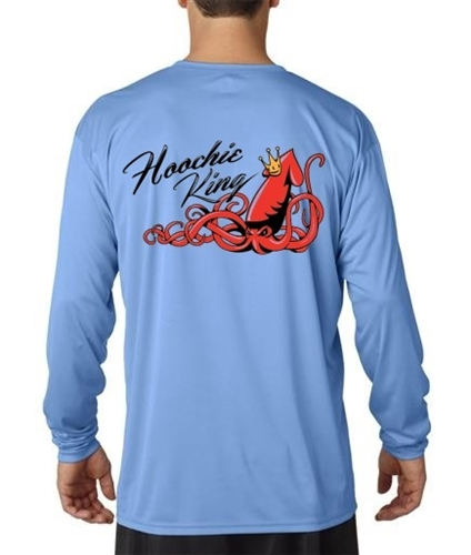 Hoochie King Long Sleeve Polyester