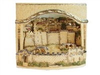 Ceramic 3D Panoramic View - Jerusalem