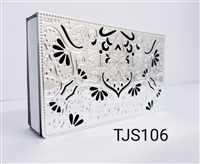 Silver Matchbox Holder Design #6