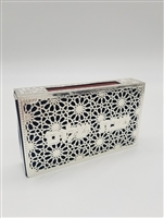 Silver Matchbox Holder Design #8