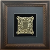 Birkat Habayit Gold Art wall frame Home Blessing in Hebrew