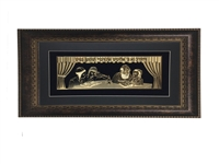 Veharev Na Gold Art Wall Frame 14x21, Brown Frame