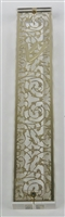 Mezuzah Case 24K Gold Plated- 15 cm scroll