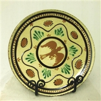 Moravian Plate with Bird $105