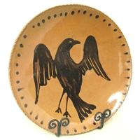 Quilled Eagle Plate $195