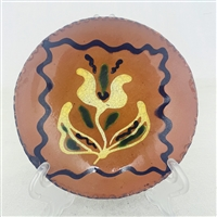 Tulip Quilled Plate $30