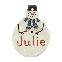 Custom Christmas Ornament (MTO) $35