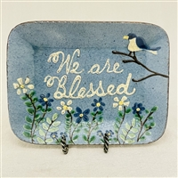 We are Blessed Plate $55