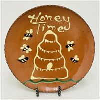 Honey Time Beeskep Plate $55