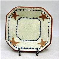 Octagonal Plate with Stars $45