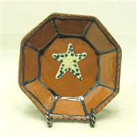 Octagonal Plate with Star $45