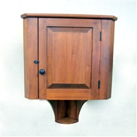 Fish Tail Hanging Corner Cupboard $545