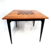 Game Table with Checkerboard Top $1290