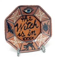 The Witch Is In Plate $45
