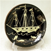 Whaling Ship Plate $65