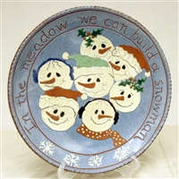 Snow Family Plate (MTO) $135