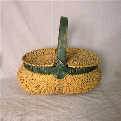 Painted Basket $125
