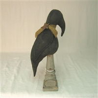 Fat Crow on Wood Stand $34.50