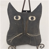 Cat Head Decorative Pillow $22.50
