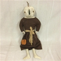 Hanging Pumpkin Girl $75