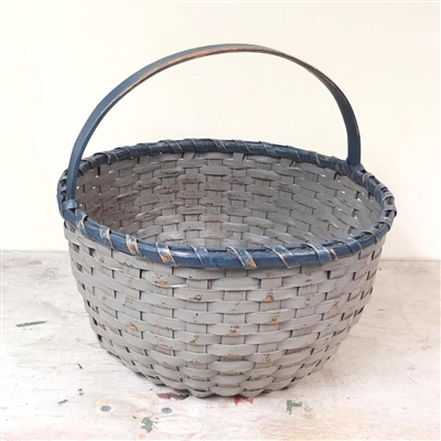 Large Painted Basket $165