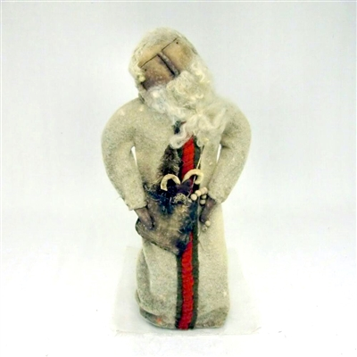 Large Santa with White Suit and Bag $127.50